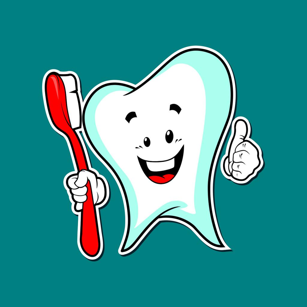 dental care, dental, mascot